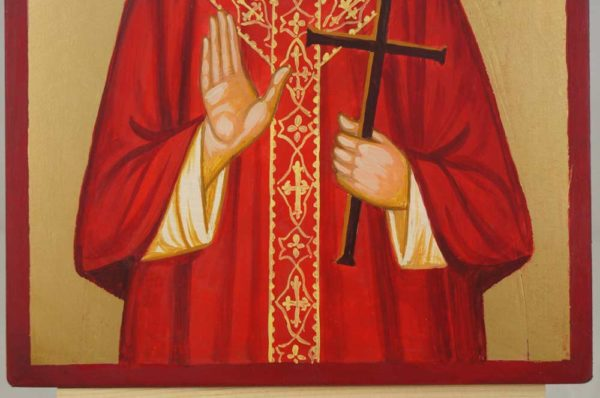Martyr Stanley Rother Hand Painted Icon on Wood