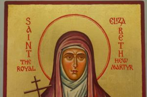 Saint Elizabeth the New Martyr Han Painted Orthodox Icon