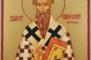Saint Gregory of Nyssa Hand Painted Orthodox Icon on Wood