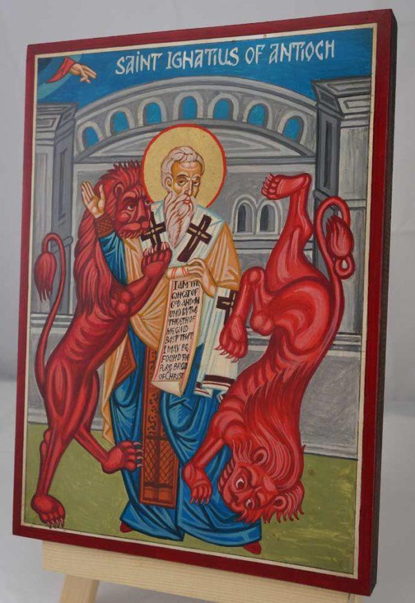 Saint Ignatius of Antioch Hand Painted Orthodox Icon