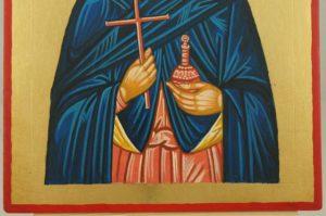 Saint Martha of Bethany Hand Painted Byzantine Orthodox Icon