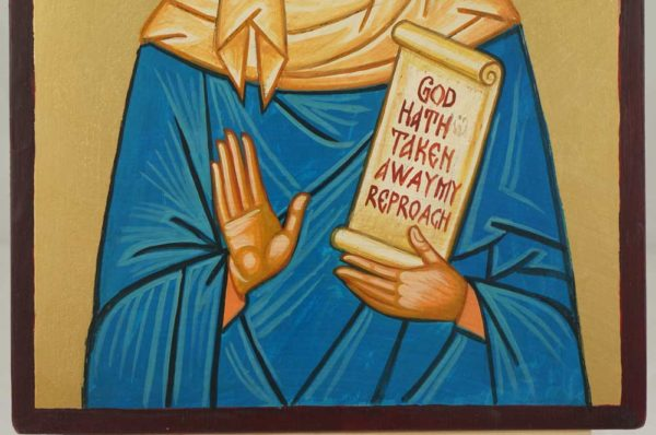 Saint Rachel the Righteous Hand Painted Orthodox Icon on Wood