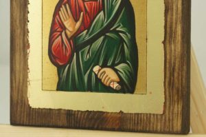 Saint Timothy the Apostle small Hand Painted Orthodox Icon