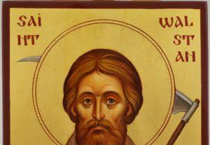 Saint Walstan of Bawburgh Hand Painted Orthodox Icon