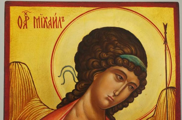 St Archangel Michael Andrei Rublev Hand Painted Byzantine Orthodox Icon