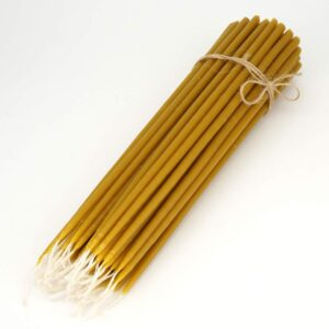 Pure Beeswax Church Candles Ritual Candles From Natural Beeswax