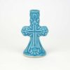 Ceramic Candle Holder cross design