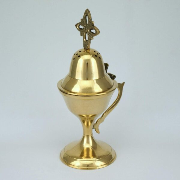 Traditional Design Brass Incense Burner