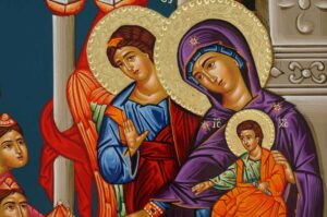 Adoration of the Magi Icon Hand Painted Greek Orthodox Byzantine