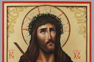 Christ the Bridegroom Icon Hand Painted Roman Catholic