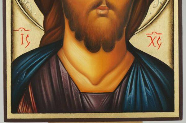 Jesus Christ Icon Hand Painted Orthodox