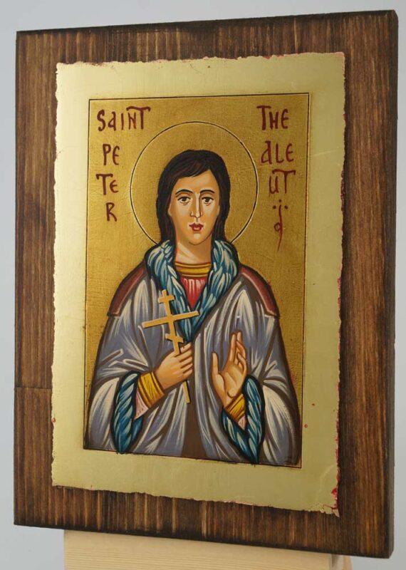 Saint Peter the Aleut Icon Hand Painted Byzantine Orthodox