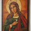 St Catherine of the Wheel Icon Hand Painted Byzantine Orthodox