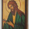 St John the Baptist Deesis small Icon Hand Painted Orthodox