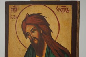St John the Baptist Deesis small Icon Hand Painted Orthodox