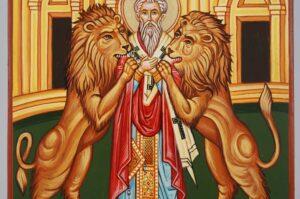 Saint Ignatius of Antioch Icon Hand Painted Byzantine Orthodox