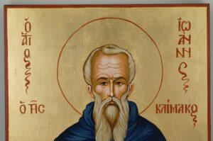 Saint John Climacus Icon Hand Painted Byzantine Orthodox