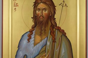 St John the Baptist Icon Hand Painted Byzantine Orthodox