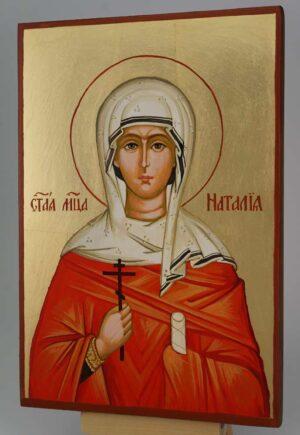 St Natalia the Martyr Icon Hand Painted Byzantine Orthodox