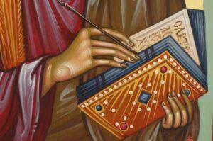 Apostle Matthew the Evangelist Icon Hand Painted Orthodox
