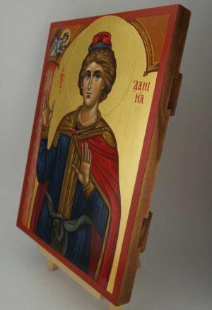 Holy Prophet Daniel Icon Hand Painted Orthodox Byzantine