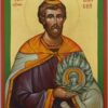 Holy Prophet Moses Icon Hand Painted Orthodox Byzantine