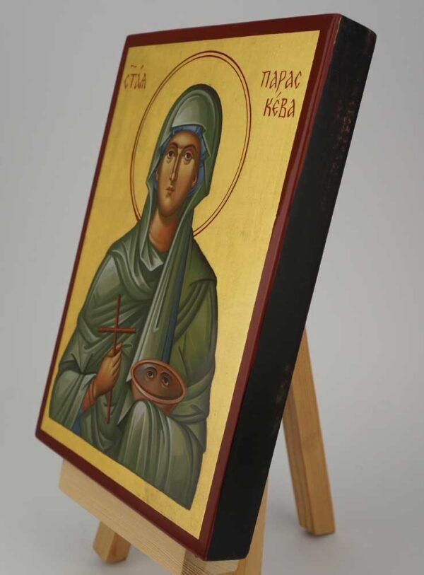 Saint Paraskevi Icon Hand Painted Byzantine Orthodox