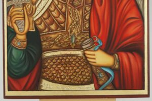 St Archangel Michael Icon Hand Painted Orthodox