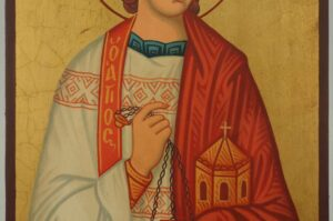 Stephen the Protomartyr Icon Hand Painted Orthodox