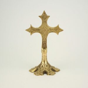 Brass Standing Cross Orthodox Church