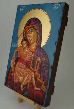 Panagia Axion Estin Icon It is Truly Meet Orthodox Hand Painted