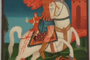 St George the Great Martyr Icon Hand Painted Orthodox