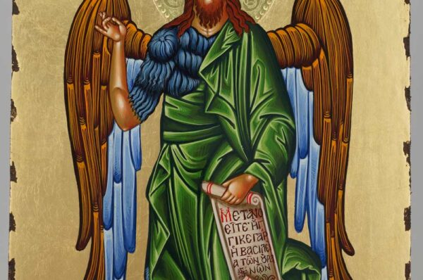 St John the Forerunner Icon Orthodox Hand Painted