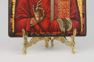 Traditional Brass Icon Stand