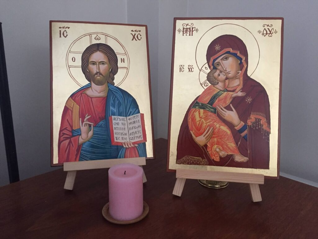 BlessedMart Customer Review Pair of Hand Painted Orthodox Icons