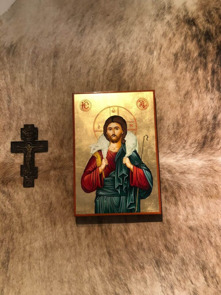 Christ the Good Shepherd icon BlessedMart Review