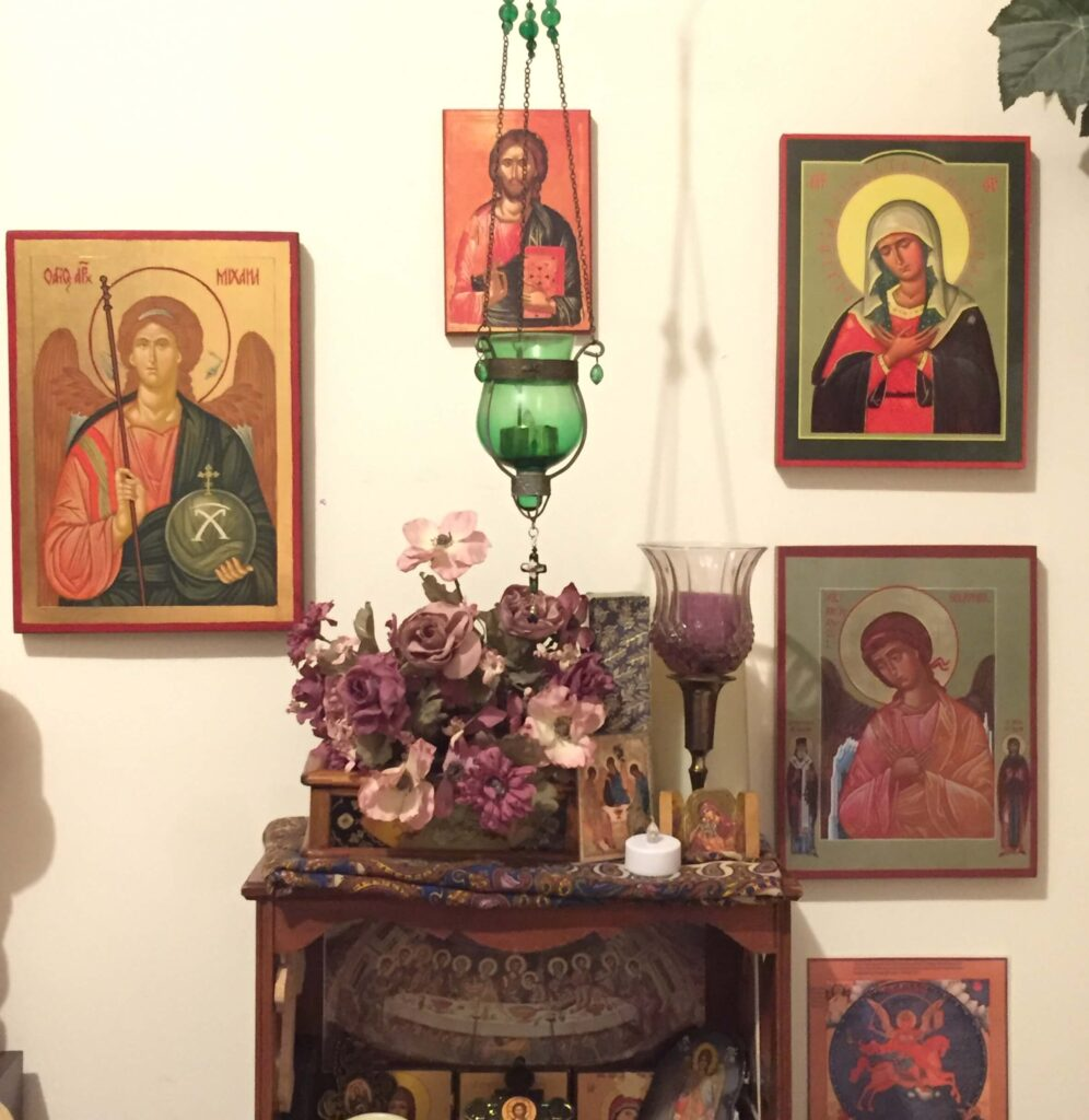 Customer Review Hand Painted Orthodox Icon BlessedMart