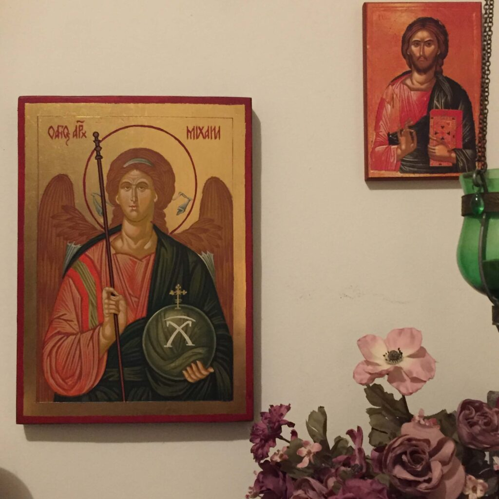 Customer Review Hand Painted Orthodox Icon BlessedMart St Michael