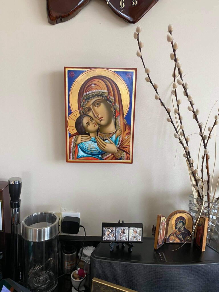 Virgin of Tenderness Icon Review BlessedMart