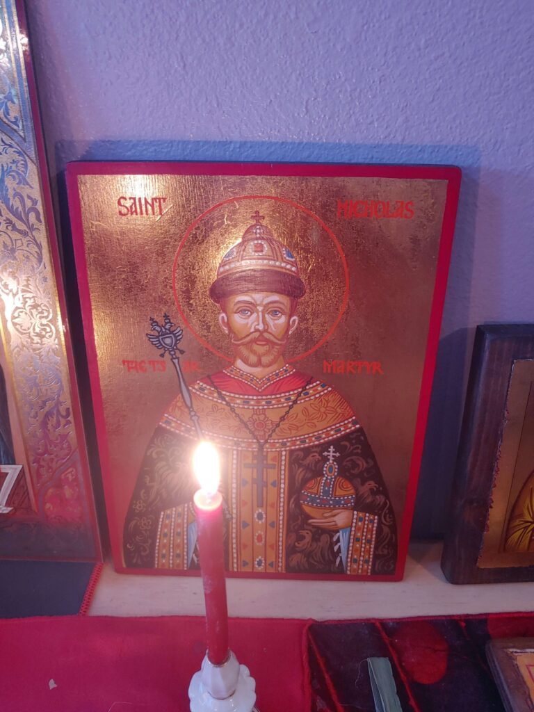 hand painted orthodox icons from BlessedMart