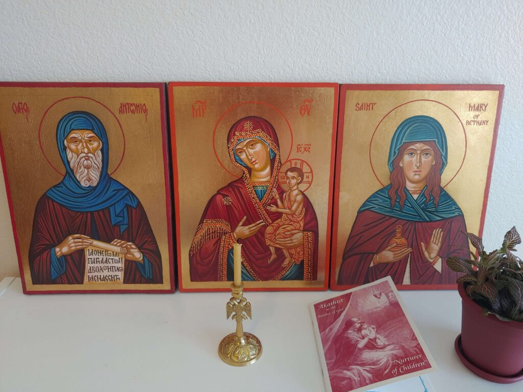hand painted orthodox icons from BlessedMart customer review