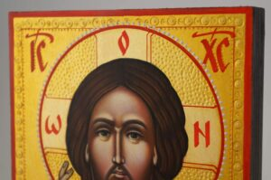 Christ Blessing Icon Hand Painted Byzantine Orthodox