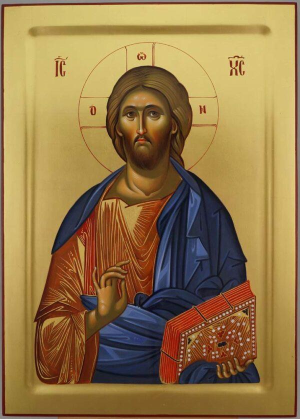 Christ Pantocrator Hagia Sophia Hand Painted Byzantine Orthodox
