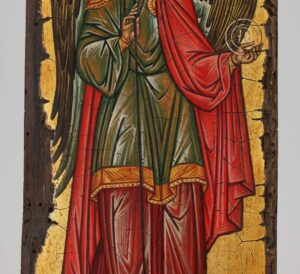Michael the Archangel Icon Novgorod Hand Painted Byzantine Orthodox