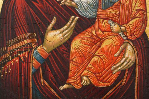 The Virgin Hodegetria Thrace Hand Painted Byzantine Orthodox