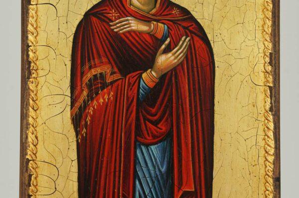 Theotokos Icon Bachkovo Monastery Hand Painted Byzantine Orthodox